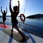 I'm on a Boat…Teaching Yoga